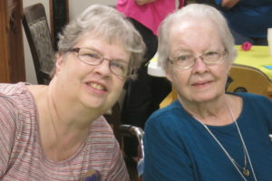 Agnes LaValley and Linda Shelley